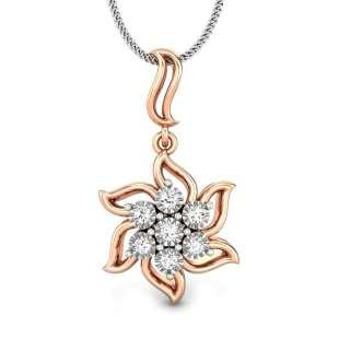 Whirl Miracle Plate Diamond Pendant