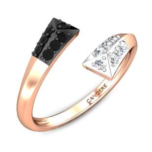 Waltz Casual Diamond Gap Ring