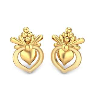 Seraphina Gold Earring