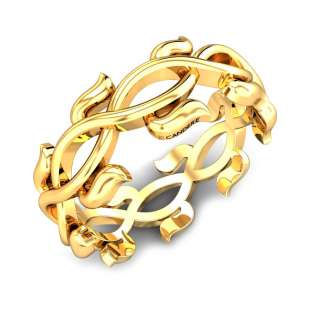 Laurel Gold Ring