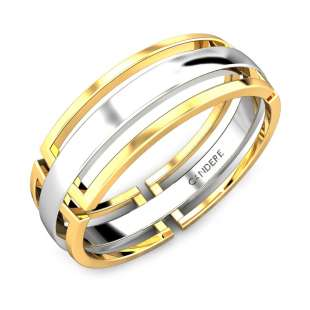 Danny Gold Wedding Band for Him
