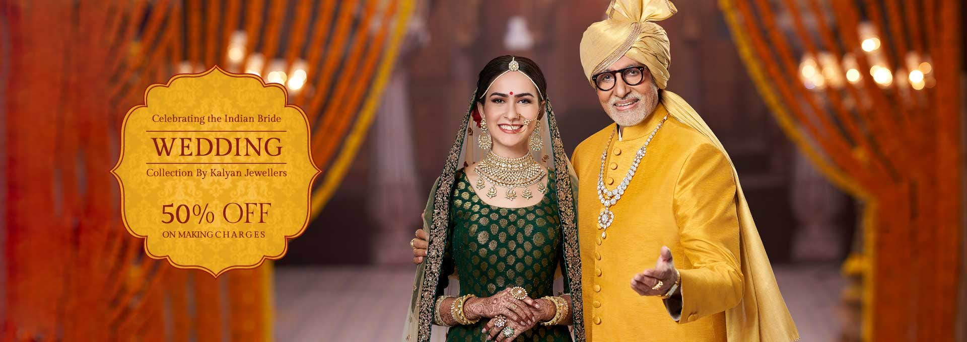 Wedding Collection by Kalyan Jewellers